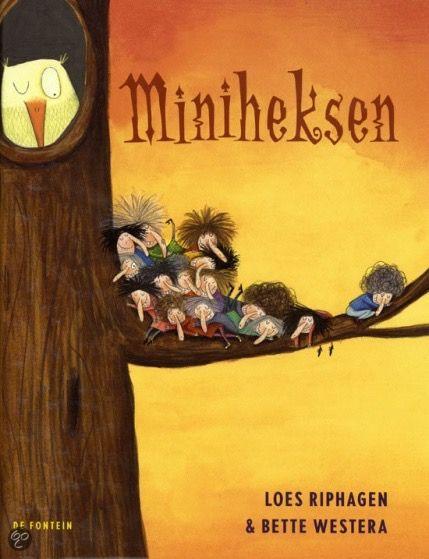 Leeftijd: Va. 5 jaar Thema: heksen, toveren, sprookjes Samenvatting Miniheksen wonen in het bos, hebben lange neuzen met pukkels, grote tanden en piekhaar. Ze zijn klein, snel, zeldzaam en houden van verandering. Elke dag toveren ze iets om in het bos, maar toch verandert er niks. Ontgoocheld hangen ze hun bezems aan de wilgen. Ze ... [Read more...]