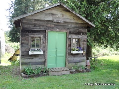 Cottage garden sheds garden shed garden shed ideas - Cottage garden shed pictures ...