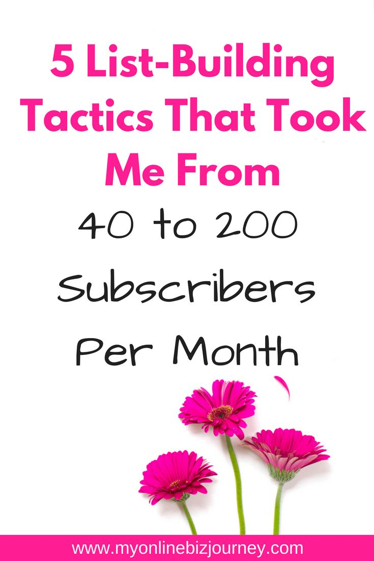 Building a profitable blog means building a profitable e-mail list. Here's how this blogger took her list from 40 to 200 subscribers per month.