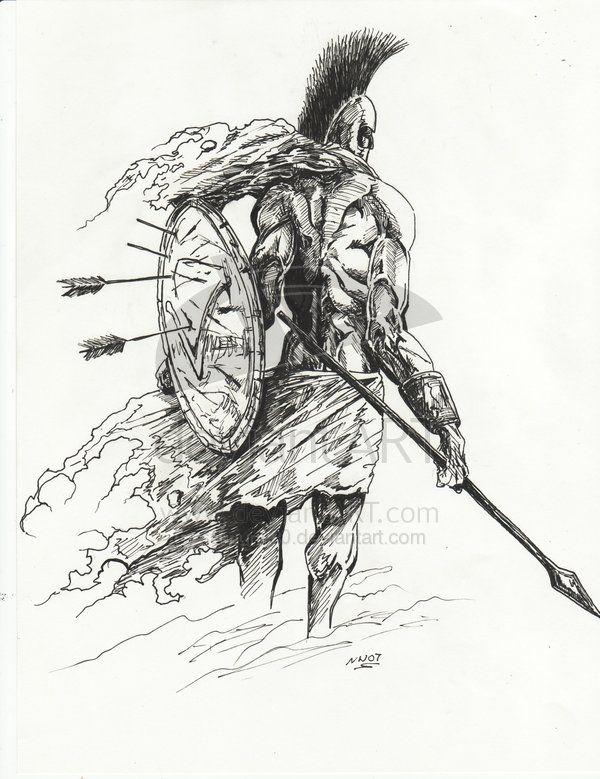 Spartan Fantasy Art