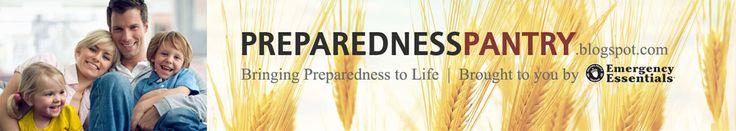 Preparedness Pantry - Food Storage, Emergency Preparedness, Emergency Kits, Water Storage