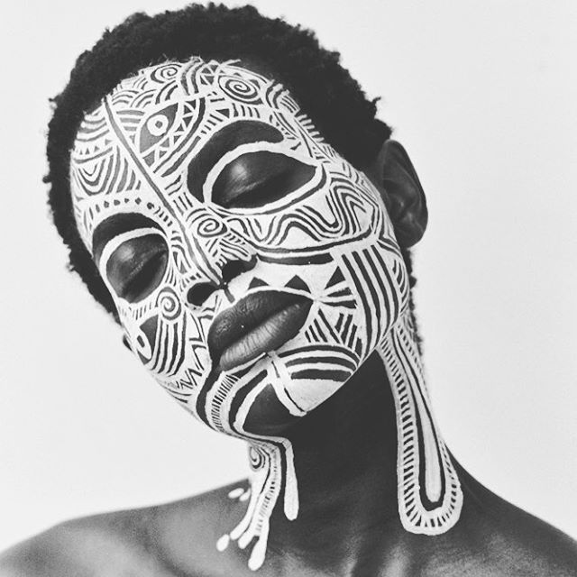 Sacred art of the Ori, Laolu Senbanjo (Nigeria)