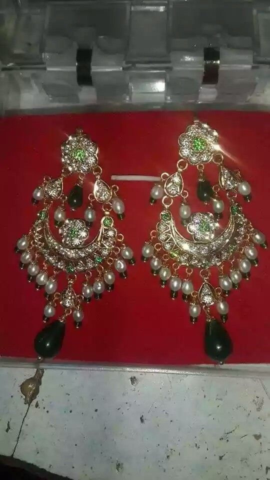 Rajputi beautiful earings by kuldeep singh