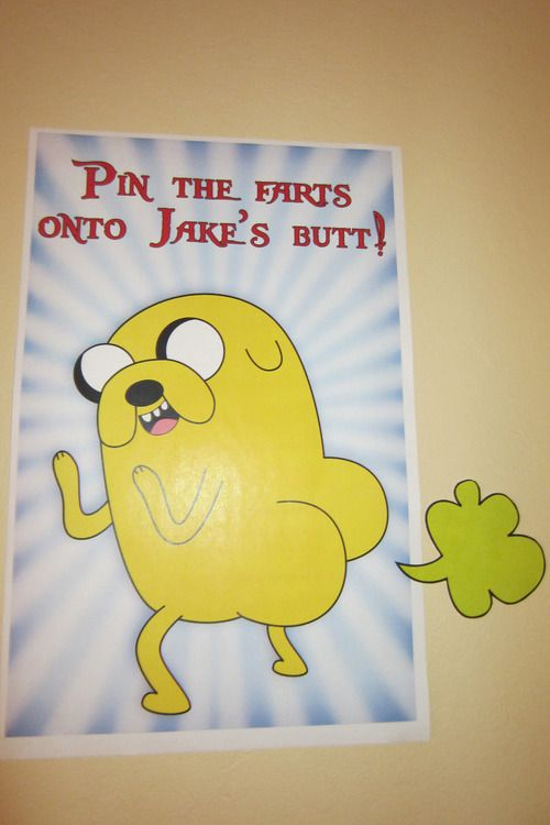 Check out this Adventure Time themed birthday party!