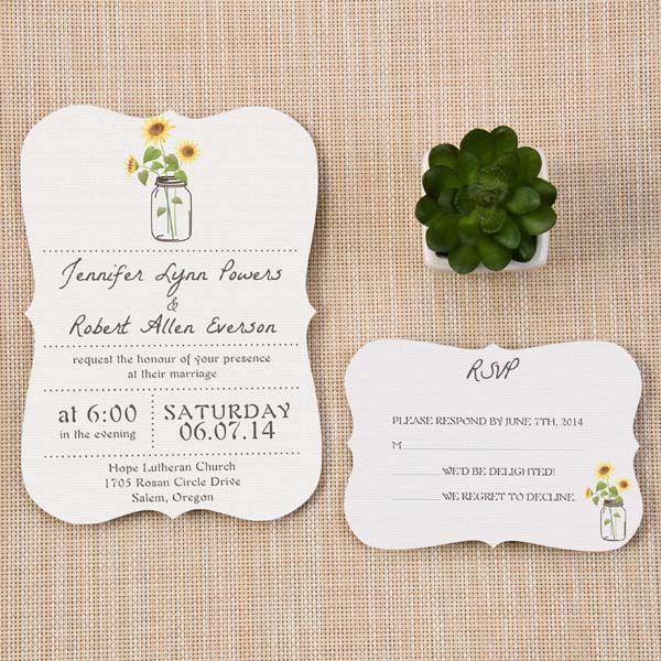 liczba pomysłów na temat: backyard wedding invitations na, Wedding invitations