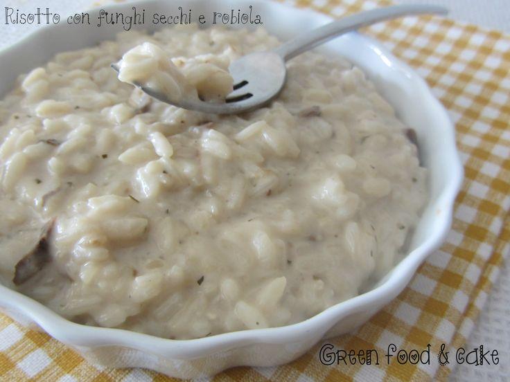 #Risotto #funghi secchi e #robiola http://blog.giallozafferano.it/greenfoodandcake/risotto-funghi-secchi-robiola/