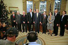 2007 Oliver Smithies (deuxième à gauche) USA