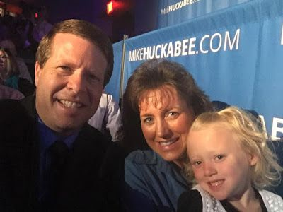 Duggar Family Blog: Updates and Pictures Jim Bob and Michelle Duggar 19 Kids and Counting TLC: Duggars Attend GOP Debates