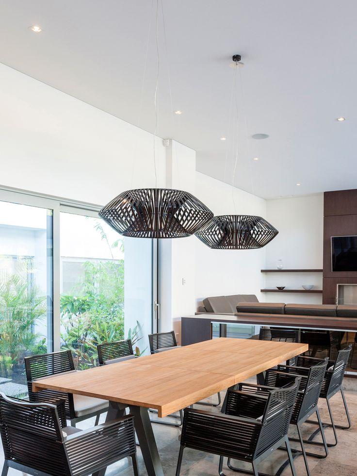 V pendant lamp arturo alvarez handmande unique lighting a spatial shape