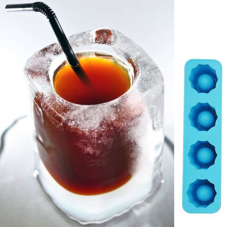 New Ice Cube Tray Mold Makes Shot Glasses Ice Mould Novelty Gifts Ice Tray Summer Drinking Tool Party Drink Ice Tray Cool