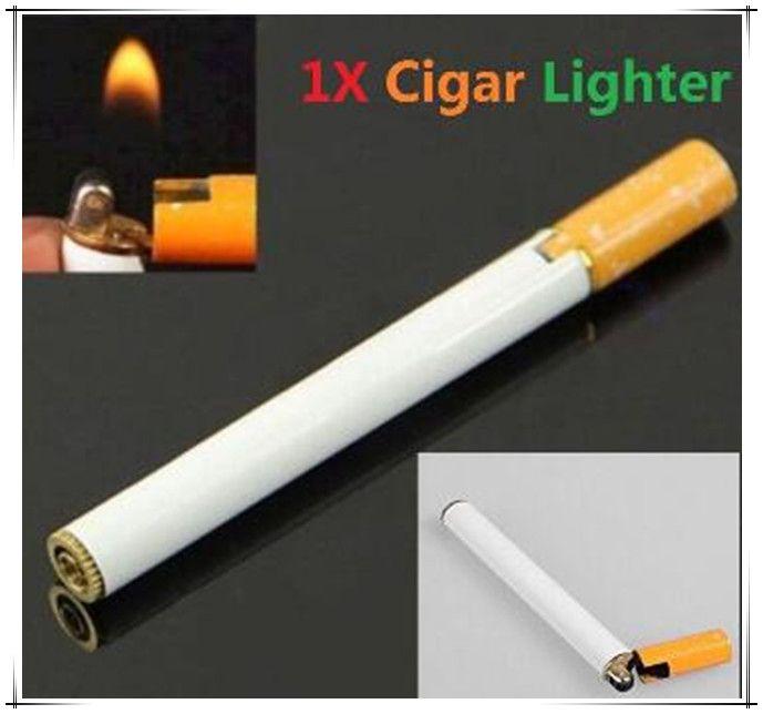 Творческий сигарет-образный газовая зажигалка германия кухня зажигалка для барбекю зажигалки ветрозащитный для камина новинка гаджет газ не(China (Mainland))