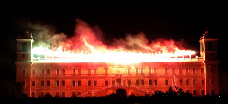 Incendio della reggia di Colorno -