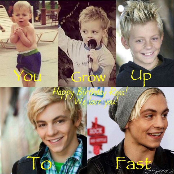 Happy Birthday Ross! We love you! My edit (@r5jessica)