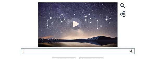 11 de agosto de 2014: Lluvia de Perseidas, nuevo doodle de Google.