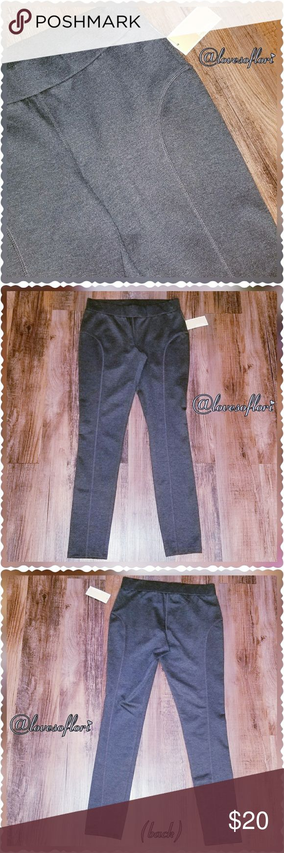 """MICHAEL Michael Kors Derby NWT MICHAEL Michael Kors Size Medium Derby Leggings in Charcoal.  70% Polyester * 25% Rayon * 5% Spandex  Approx 9"""" Front Rise Approx 13"""" Back Rise Approx 28"""" Inseam Approx 5"""" Flat Across Leg Opening (10"""") MICHAEL Michael Kors Pants Leggings"""