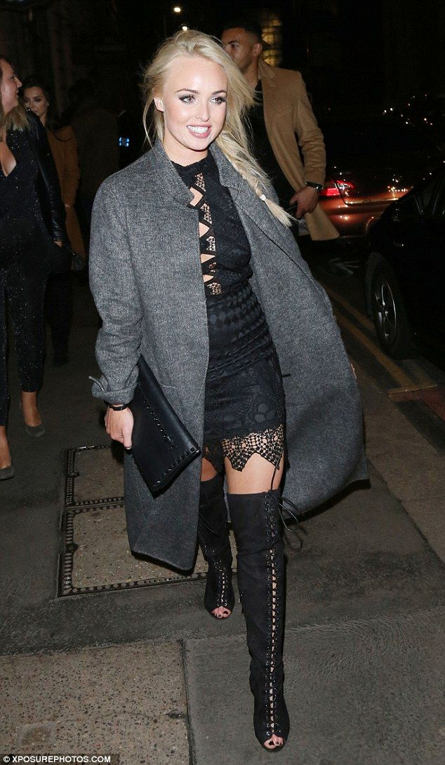Night on the town: I'm A Celebrity... Get Me Out Of Here! star Jorgie Porter was seen arri...