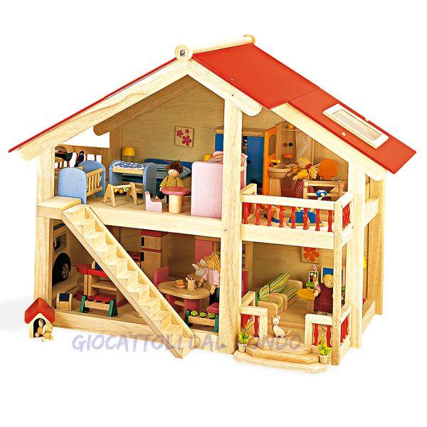 Oltre 25 fantastiche idee su casa delle bambole di legno for I piani rossi della casa del cottage