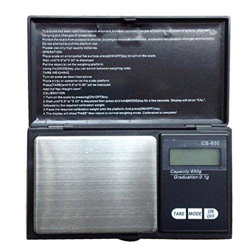 Weiheng WH-CS 650g/0.1g Elektronische Waage f�r Schmuck Goldwaage Feinwaage Digitalwaage Scale