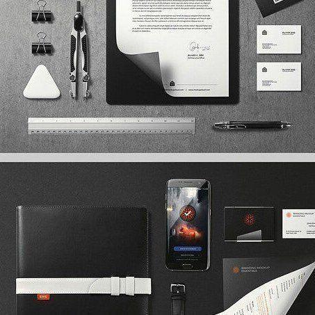 designeour:    #Branding #Mockup Essentials by Mockup...