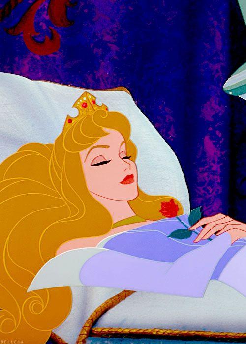 sleeping beaut.