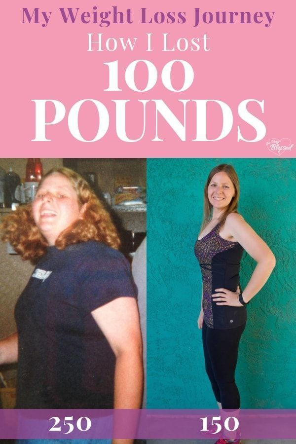 My weight loss journey {How I lost 100 pounds