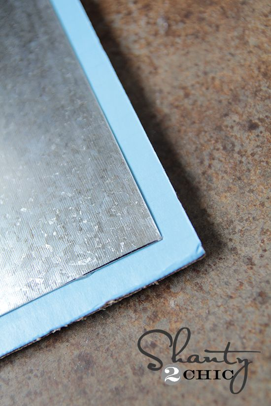 17 best images about photo display on pinterest wall for Galvanized metal sheets for crafts