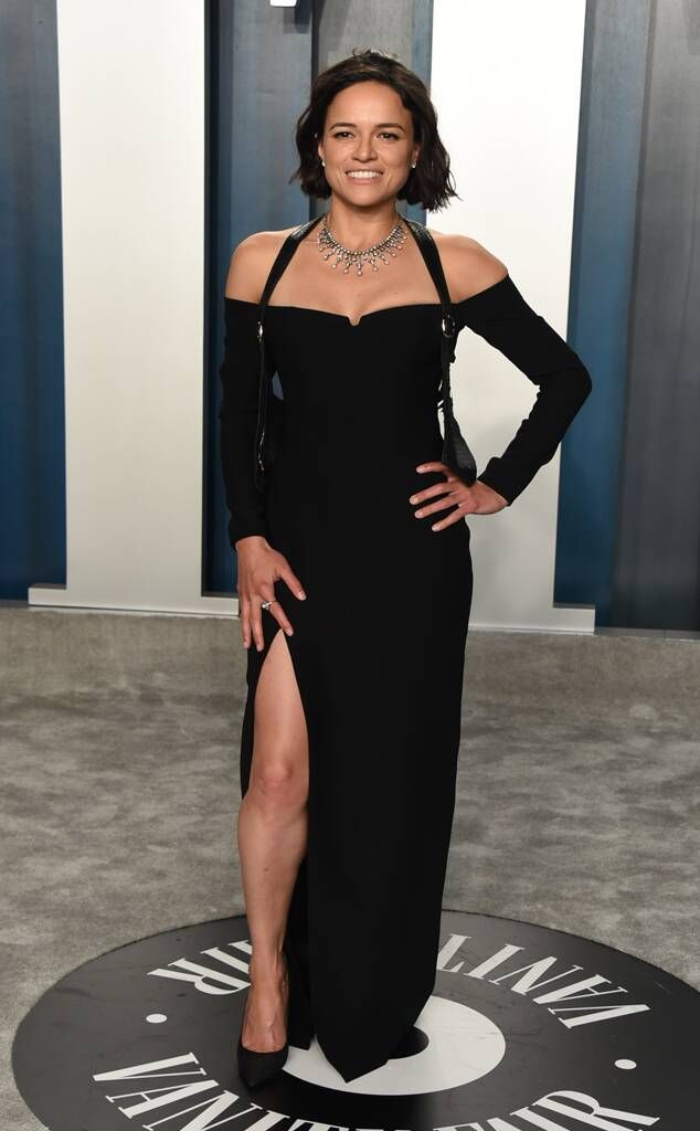 Michelle Rodriguez from 2020 Vanity Fair Oscars After-Party on E! Online |  Fashion, Vanity fair oscar party, Michelle rodriguez