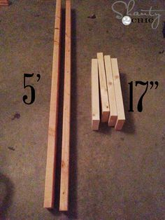 $10 Wooden Blanket Ladder
