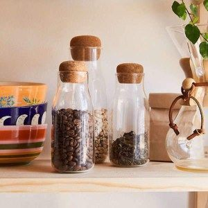 Zero Waste Kitchen In 2019 Storage Ideas Zero Waste Glass Jars Jar