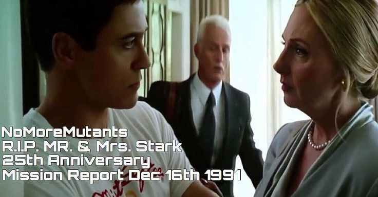 R.I.P. Mr. & Mrs. Stark Today marks the 25th Anniversary to Mission Report December 16th 1991  Download images at nomoremutants-com.tumblr.com  #marvelcomics #Comics #marvel #comicbooks #avengers #captainamericacivilwar #xmen #Spidermanhomecoming  #captainamerica #ironman #thor #hulk #ironfist #spiderman #inhumans #civilwar #lukecage #infinitygauntlet #Logan #X23 #guardiansofthegalaxy #deadpool #wolverine #drstrange #infinitywar #thanos #gotg #RocketRaccoon #cyclops #nomoreinhumans…