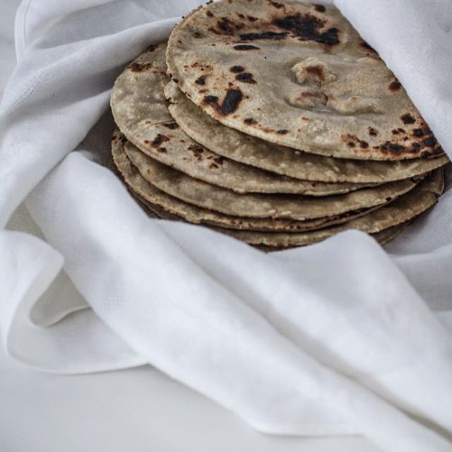 Gluten free buckwheat chapati recipe. www.firstfruittable.com