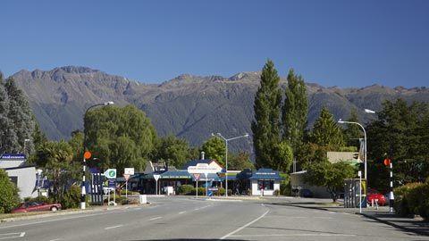 The township of Te Anau.