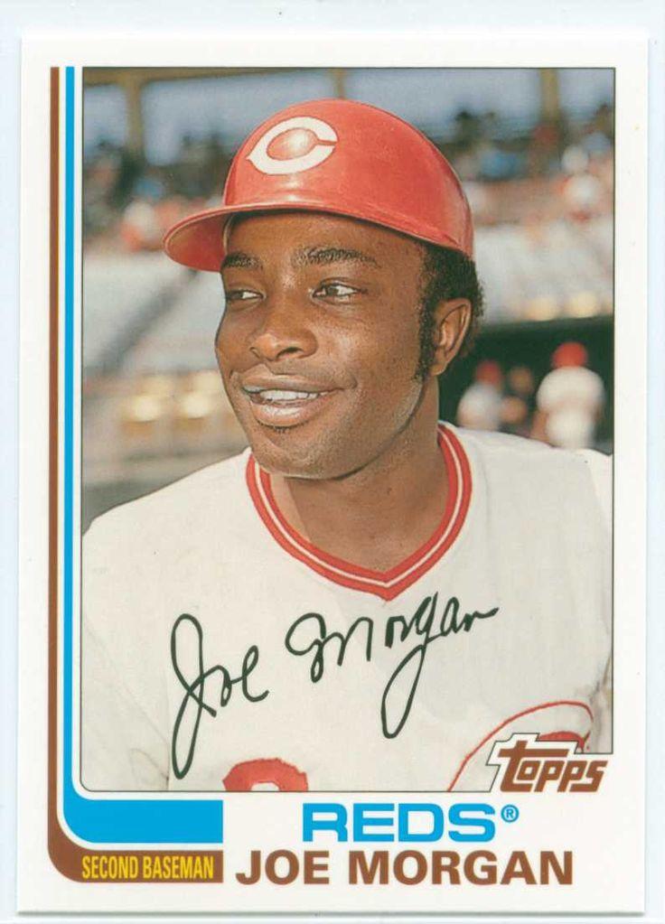 Most Valuable Topps Baseball Cards Joe Morgan Baseball