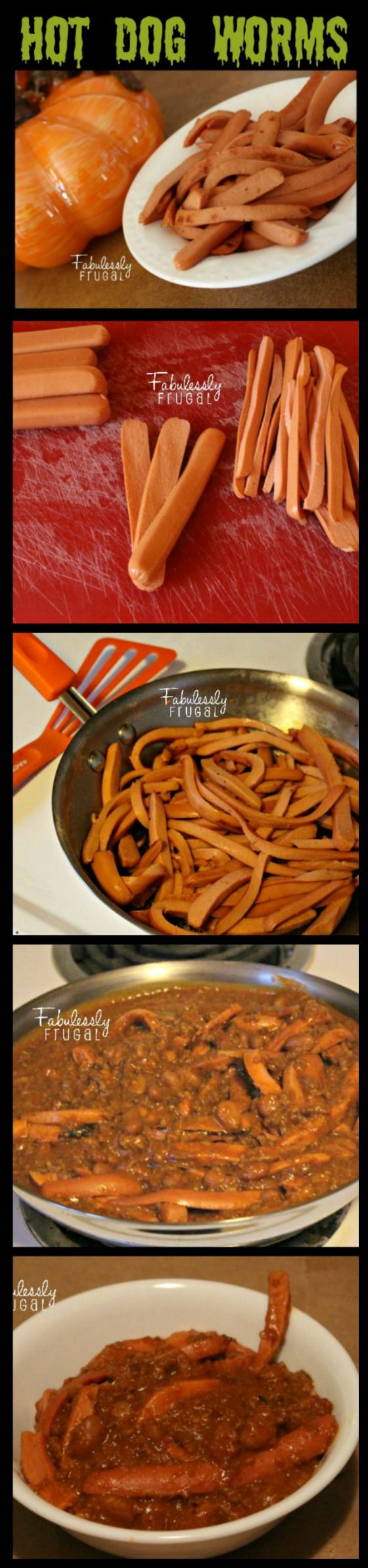 Hot Dog Worms | Fabulessly Frugal: A Coupon Blog sharing Amazon Deals, Printable Coupons, DIY, How to Extreme Coupon, and Make Ahead Meals