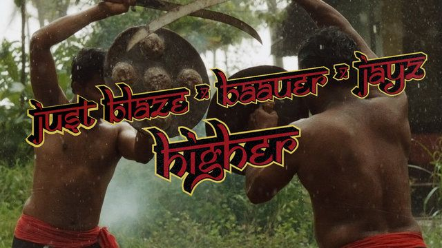 Just Blaze - Higher. Guris indianos querem virar guerreiros, se vingar. Cinematográfico, de tirar fôlego. (Indian kids want to be warriors, to avenge. Cinematographic, breathtaking) (dir.: NABIL) (16/08)