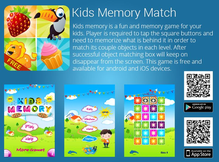 46 best Kids Memory Match Game images on Pinterest Google play, To - best of google play