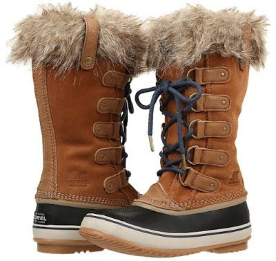 SOREL - Joan of Arctictm Women's Waterproof Boots feature a full-grain leather and suede upper with seam-sealed waterproof construction to keep out the wet elements for a drier foot environment.