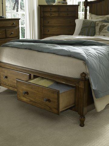 Superb Broyhill Furniture Hayden Place Hayden Place Queen Panel Storage Bed