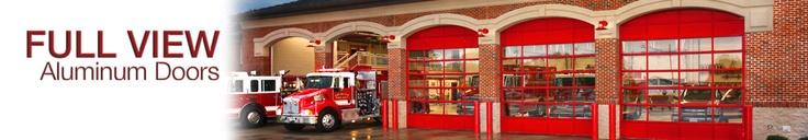 Full View Aluminum Commercial Garage Doors