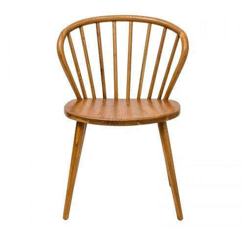 Durai | kursi makan dining chair cafe hotel restaurant scandinavian teak wood unique modern