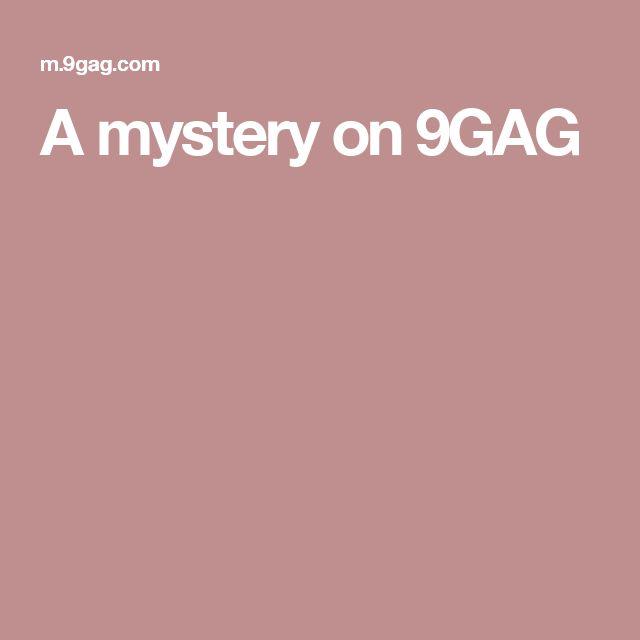 A mystery on 9GAG