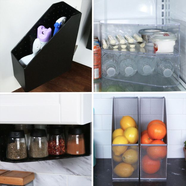 Is your kitchen space stressing you out? Try organizing your place with file folders to make your kitchen super ~zen~!