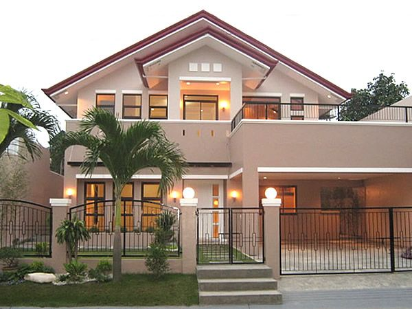 Philippine bungalow house design dream house pinterest for House color design exterior philippines