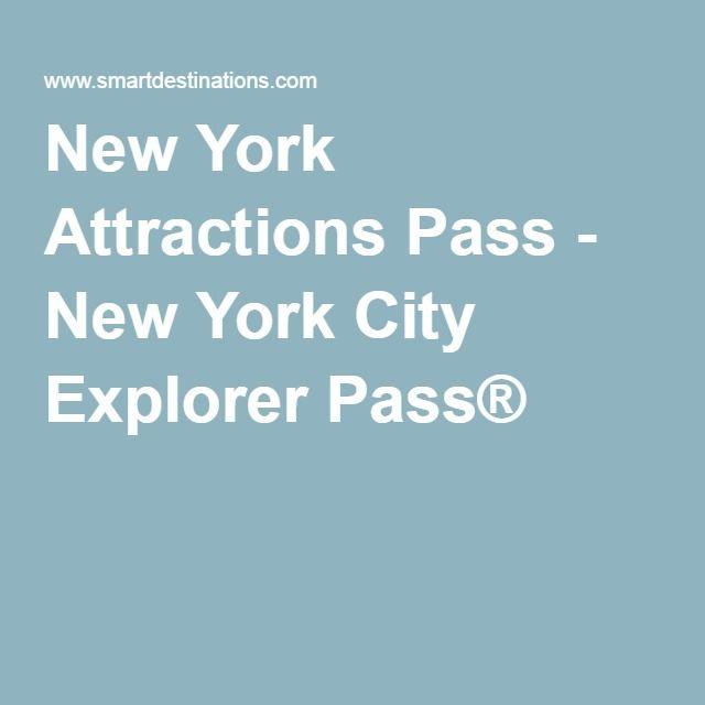 New York Attractions Pass - New York City Explorer Pass®