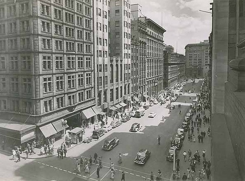 Martin Place, Sydney by State Records NSW, via Flickr