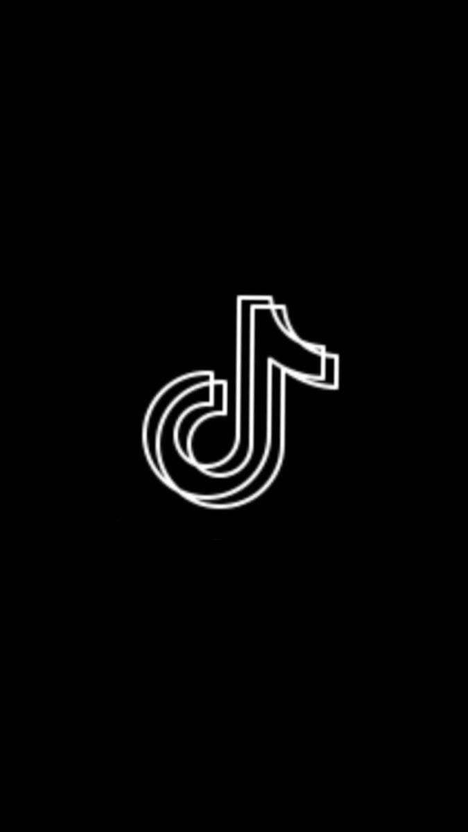 Tiktok Black And White Logo : tiktok, black, white, Black, Theme, Tiktok, Bears,