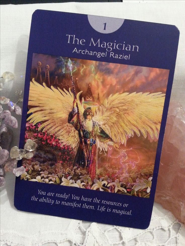 2 Feb – Another day where you can make magic happen! AA Raziel can help you move on and make dramatic changes to your life. Have you been seeing rainbows? AA Raziel is near. Ask him for support & guidance in making those changes. (Angel Tarot, #DoreenVirtue & #RadleighValentine) #dailycard #dailytarot #dailymessages #dailyguidance #dailyoracle #tarot #angelicguidance #tarotcommunity #spirituality #metaphysical #divination #sharingisloving #angelreading #angels #archangels #angeltarotcards