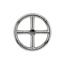 "6"""" Stainless Steel Fire Pit Ring Burner - By American Fireglass"
