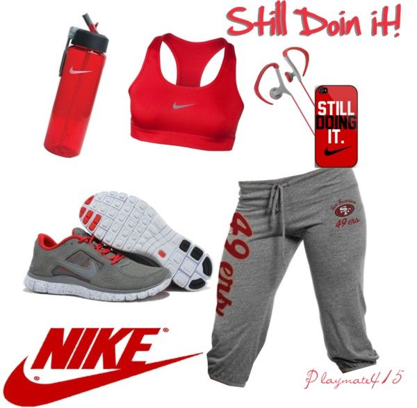 """Niners Fans Get Pumped!"" by playmate415 on Polyvore"