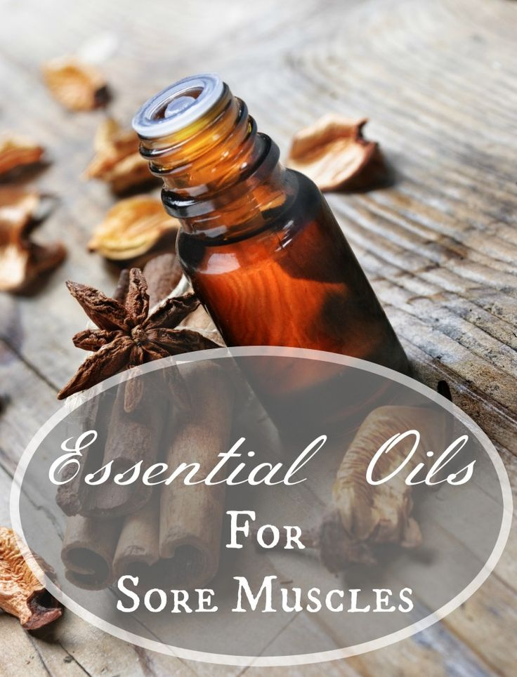 All-Natural DIY Essential Oils Blend for Sore Muscles